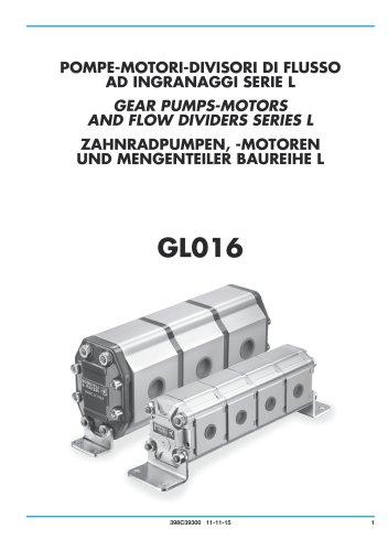 Pompe, Motori e Divisori di Flusso a ingranaggi - Corpo in alluminio