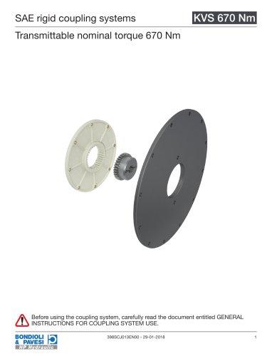 Rigid Coupling Systems - KVS 670 Nm
