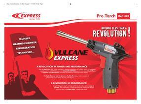 Vulcane Express Torch Ref. 470