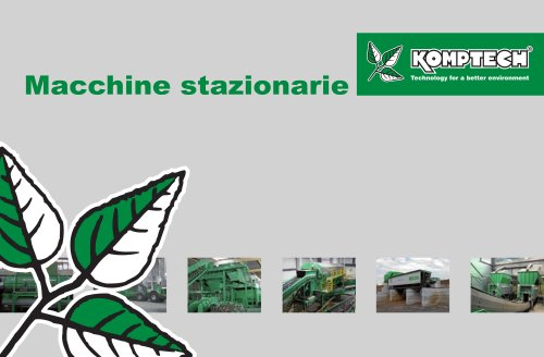 Macchine stazionarie