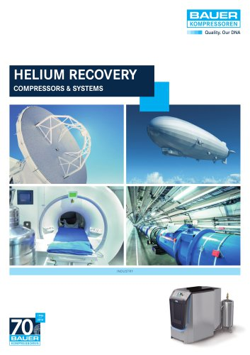 HELIUM RECOVERY COMPRESSORS & SYSTEMS