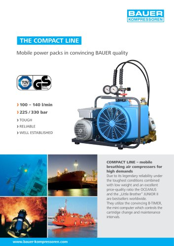 THE COMPACT LINE ? Mobile Power Packs in convincing BAUER Quality