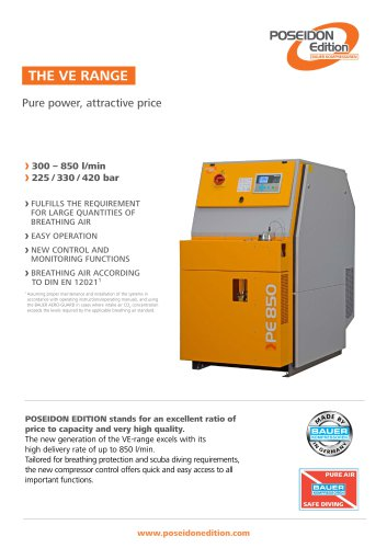 The VE-Range ? Pure power, attractive price
