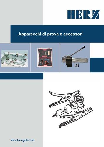 Apparecchi di prova e accessori