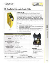 SG-Ultra Digital Hydrometer/Density Meter