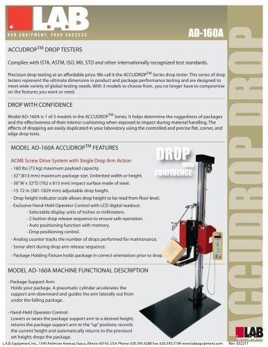 AccuDrop™ 160A