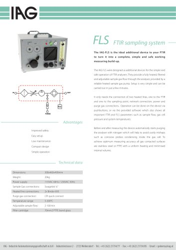 FLS FTIR-sampling system