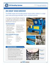 UNI-SHEAR®  SR400 SHREDDER