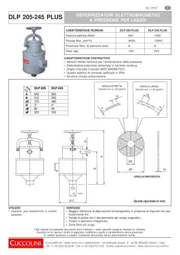DLP 205-245 PLUS