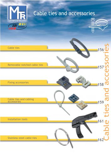 Cable ties and accessories