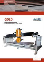 GOLD compact CNC bridge saw