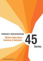 45 Series Ø22mm Nylon Bezel Switches & Indicators