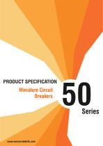 50 Series Miniature Circuit Breakers