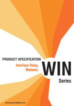 WIN Series Interface Relay Modules