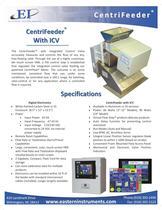 CentriFeeder Spec Sheet