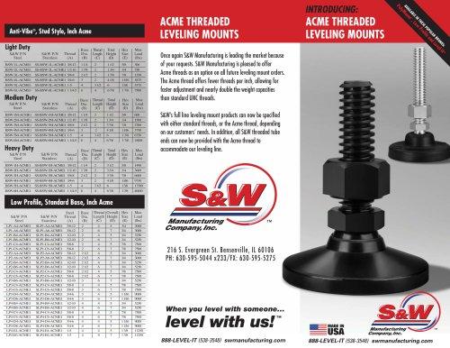 ACME Thread Brochure