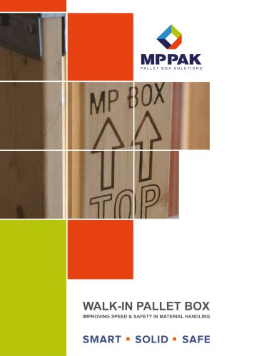 Walk In Pallet Box -ENGLISH