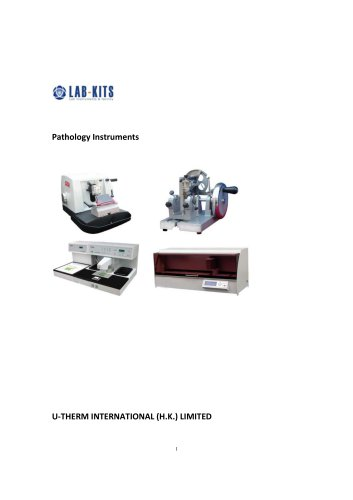 Pathology Instruments