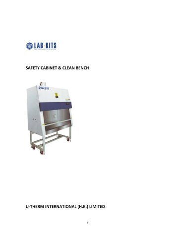 SAFETY CABINET & CLEAN BENCH