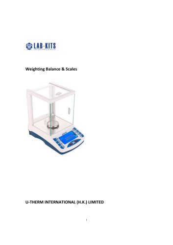 Weighting Balance & Scales