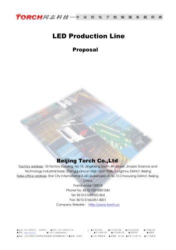 1200mm Automatic LED production line