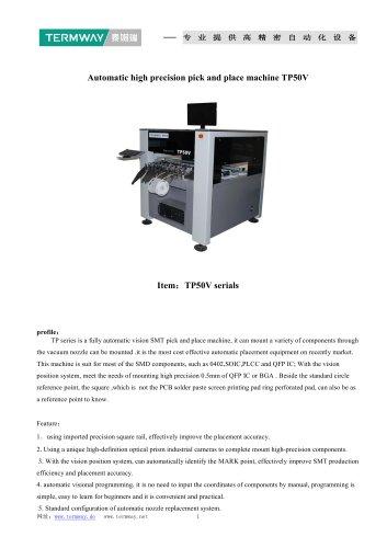 Automatic Chip Mounter TP50V