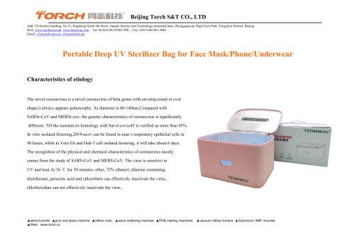 TORCH Face mask/Phone UVC sterilizer