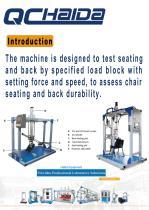HD-F780 Chair And Seat Testing Machine