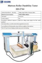 Mattress Roller Durability Tester