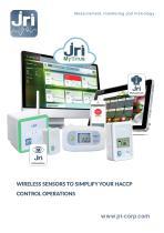 JRI MySirius : Wireless sensors to simplify your HACCP control operations