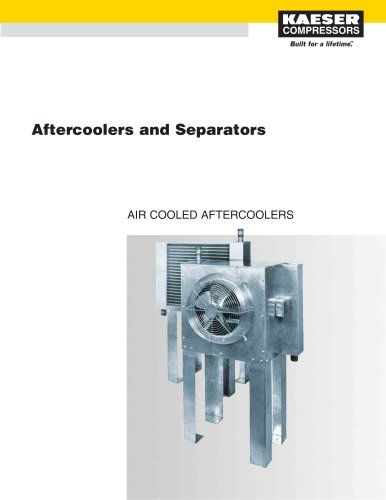 Air Cooled Aftercoolers