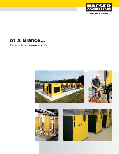 At A Glance - Kaeser Compressors