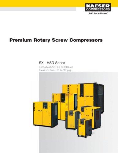 Rotary Screw Compressor Catalogue