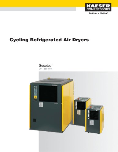 Secotec - Cycling Refrigerated Air Dryers