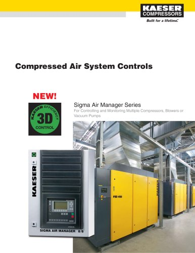 Sigma Air Manager (SAM) - Compressed Air System Controls