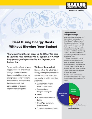 Utility Incentive - Energy Savings and Asset Management