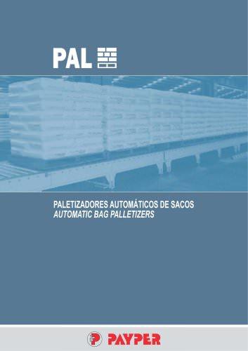 AUTOMATIC BAG PALLETIZERS