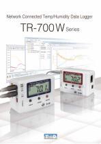 LAN/WLAN Dedicated Datalogger TR-700W Series