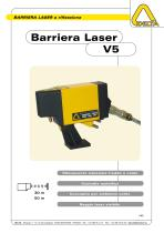 Barriera Laser a riflessione V5