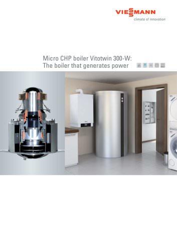 Micro CHP boiler