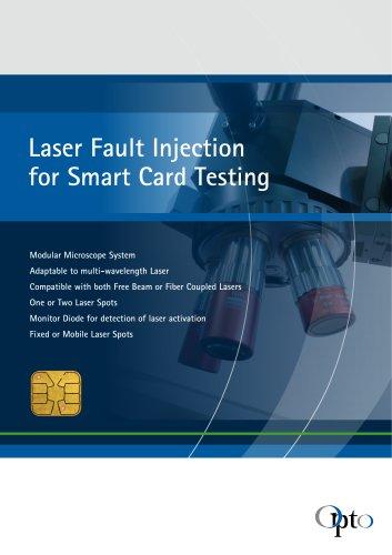 Laser Fault Injection for Smart Card Testing