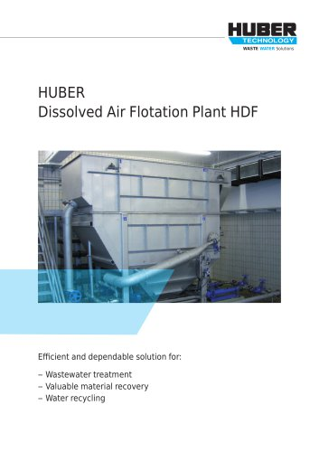 Dissolved Air Flotation Plant HDF