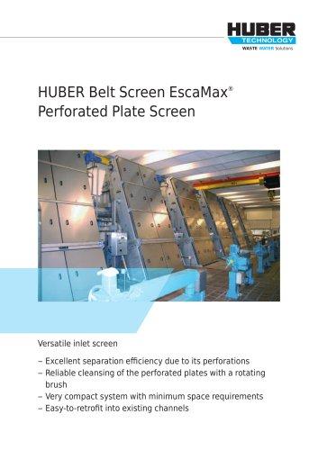 HUBER Belt Screen EscaMax