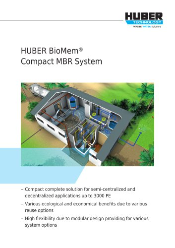 HUBER BioMem® Compact MBR System