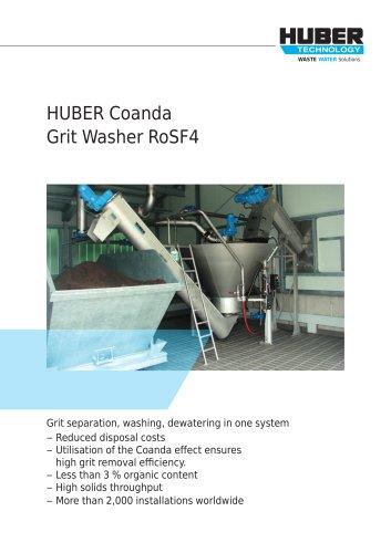HUBER Coanda Grit Washer RoSF4