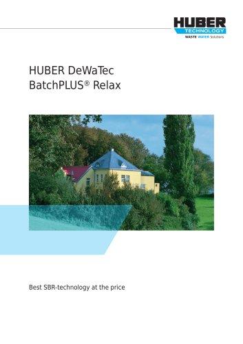 HUBER DeWaTec BatchPLUS® Relax SBR plant