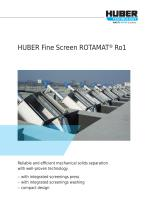 HUBER Fine Screen ROTAMAT® Ro1
