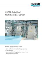 HUBER RakeMax® Multi-Rake Bar Screen