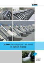 HUBER Tecnologia per l'ambiente in tutto il mondo