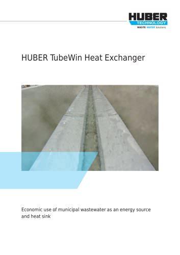 HUBER TubeWin Heat Exchanger